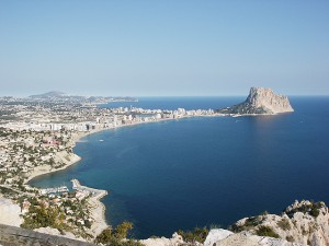 Webcams Calpe en Costa Blanca
